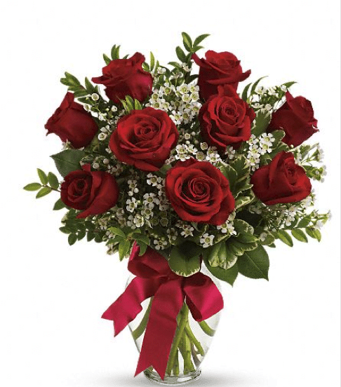 1 dozen roses for 12 dozen roses at your door